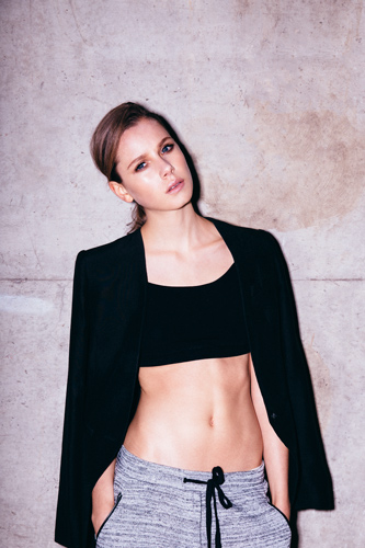 Australian Fashion Photographer David Hauserman shoots Katharina for London Model Mgmt