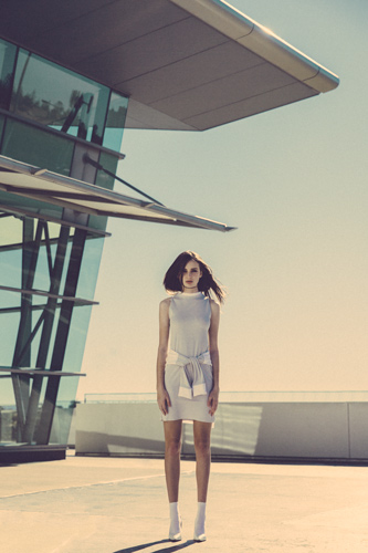 Australian Fashion Photographer David Hauserman shoots fashion editorial featuring Natalie Sole